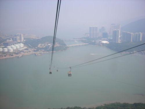 香港のゴンドラ