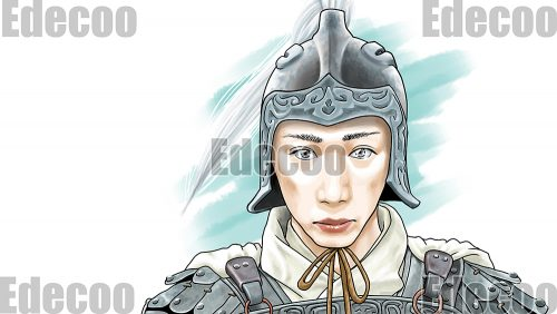 中国史の韓信モチーフの似顔絵