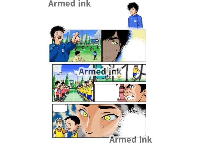 Edecooの漫画制作の流れ 完成データ!