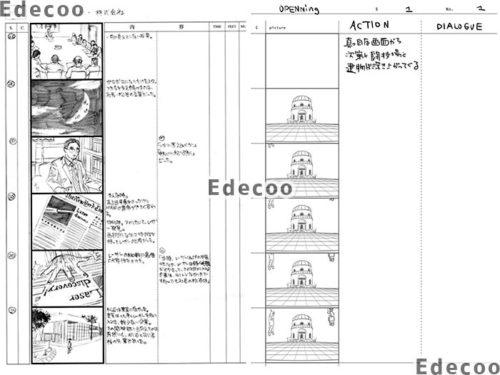 Edecooの絵コンテ制作サービス2