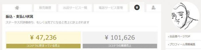 12月のココナラの収益発表!!