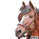 競馬界一のアイドルホーストウカイテイオーのイラストを制作!