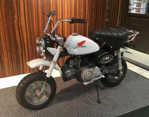 ディエゴのバイク