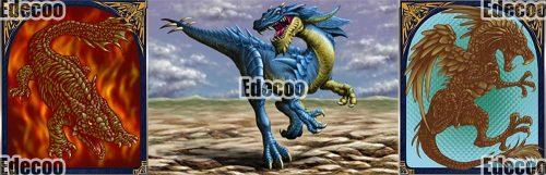 恐竜のイラスト1を制作:mega