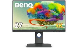 クリエイター向けモニターをおすすめ:BenQ-PD2700U