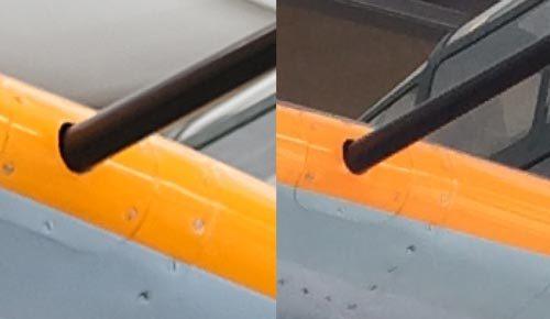 x-s10で零戦写真を比較!2